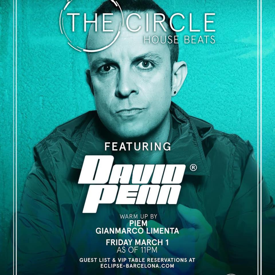 Gianmarco Limenta warm up feat David Penn at The Circle House of Beats