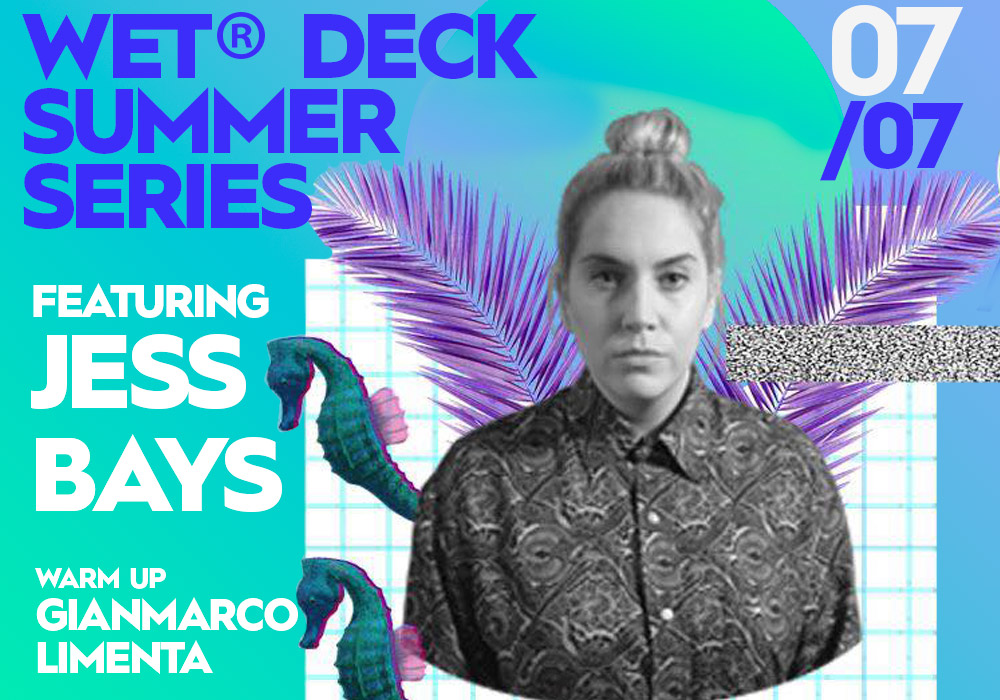 Gianmarco Limenta and Jessy Bays at Wet Deck Series 2019, W Hotel Barcelona
